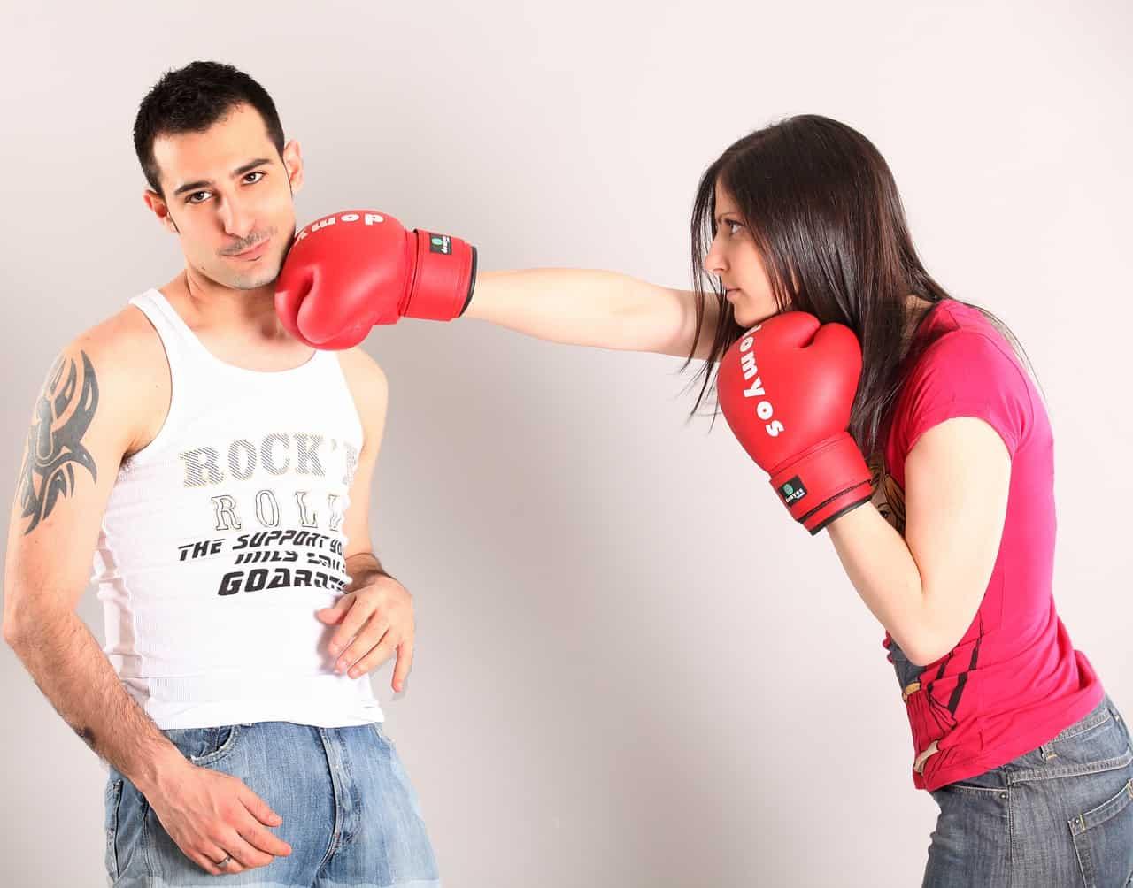 Как посадить мужа за избиение жены